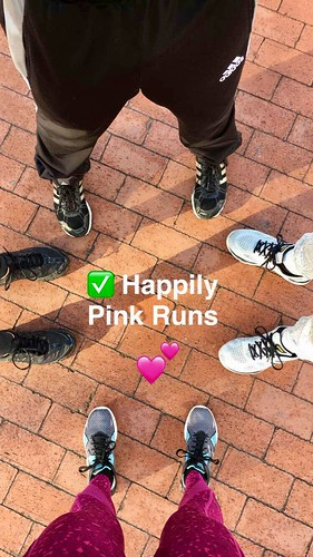 A Happily Pink Journey: One month progress