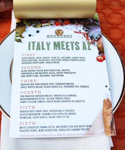 Maynards Market & Kitchen Guest Chef Series– Italy Meets AZ