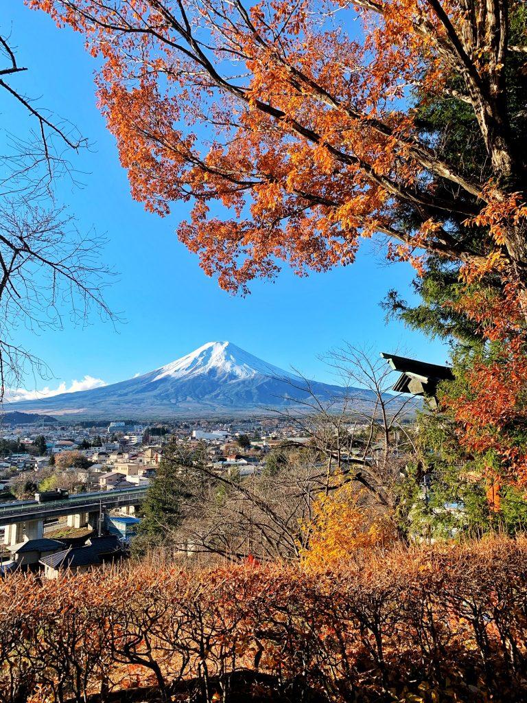 Mount Fuji from Arakurayama Sengen Park