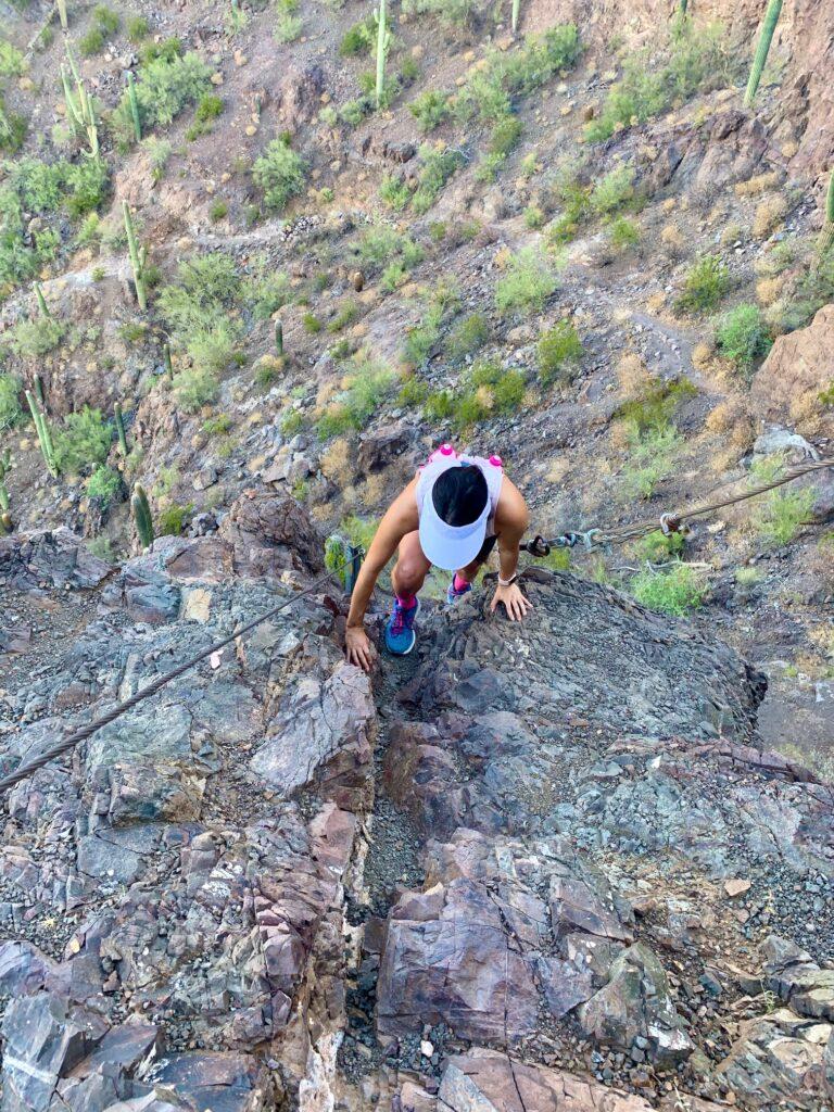 Picacho Peak Happily Pink Natalie Moe